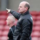 Here and now: Barry Gray is not thinking about the cup date with Linfield