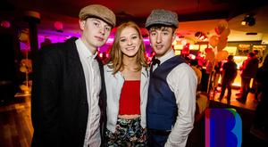 People out for the Peaky Blinders Valentines Ball at Plastik. Wednesday 14th February 2018. Picture by Liam McBurney/RAZORPIX
