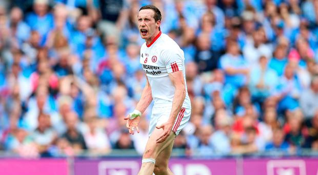 Old hand: Colm Cavanagh's experience can stand Tyrone in good stead tomorrow