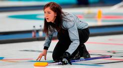 Late show: Eve Muirhead sealed the sudden death win
