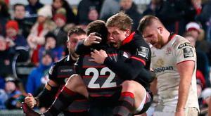 Joy and despair: downcast Ulster as Edinburgh celebrate Duncan Weir's winning drop goal