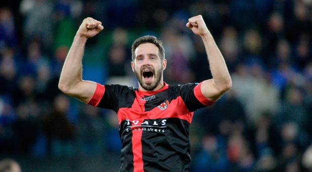 Closing in: Sean Ward hopes to play in another cup final