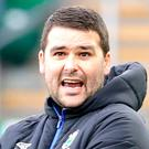 Blue rage: Linfield boss David Healy wants his players to find the killer touch