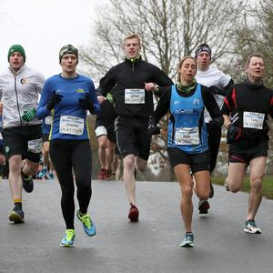 Press Eye - Belfast Telegraph Born2Run - Gosford Forest Park - 18th February 2018 Photograph by Declan Roughan