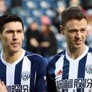 Gareth Barry (left) and Jonny Evans were two of the four West Brom players involved in an incident in Spain (Nick Potts/PA).