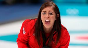 Game winner: GB's Eve Muirhead clinched victory