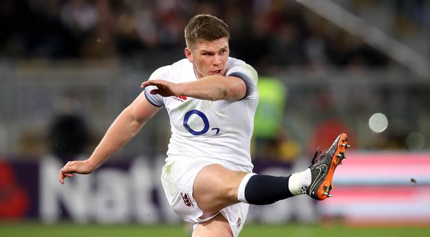 Cool customer: Owen Farrell has impressed at inside centre