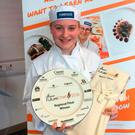 Amy Jeffers, who won the competition's Northern Ireland regional final