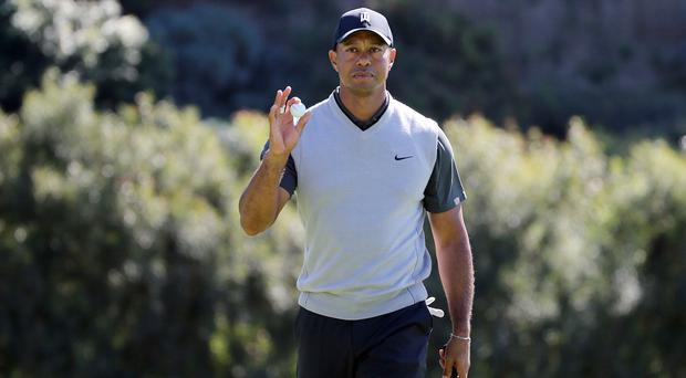 Aiming high: Tiger Woods is out to emulate Jack Nicklaus