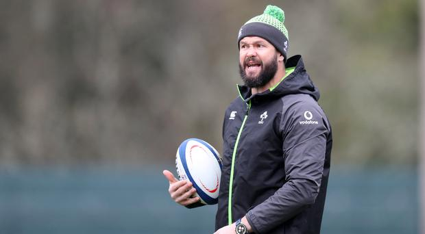 Warning: Andy Farrell says being average just isn't good enough