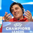 Wise head: Vincenzo Montella is aware of United's big threats