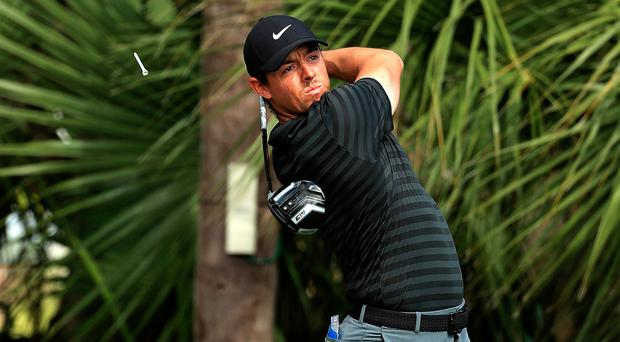 Tiger Woods high up Honda Classic leaderboard early in first round