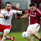 Comeback: Ronan McNamee is once more available for Tyrone boss Mickey Harte after his recent adventures with UUJ