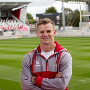 Familiar face: Dwayne Peel used to play for the Scarlets