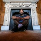 Hotseat: Ireland ace Bundee Aki at Carton House ahead of Wales' visit to the Aviva