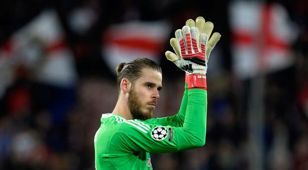 David de Gea was in great form for Manchester United