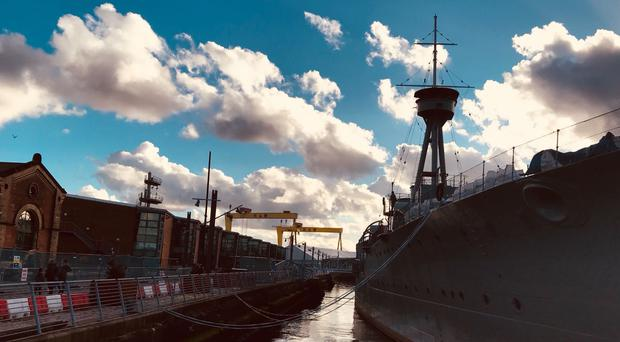 HMS Caroline (Photo by Verity Hamill)