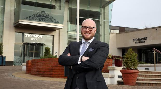 Andy McNeill, General Manager of the Stormont Hotel.