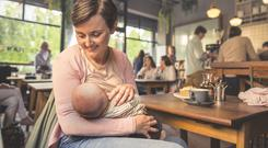 The Public Health Agency are encouraging the public to show their support for mums who breastfeed