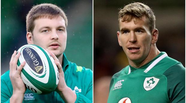 Iain Henderson has been kept out of Ireland's game against Wales as a precaution while Chris Farrell will make his Six Nations debut.