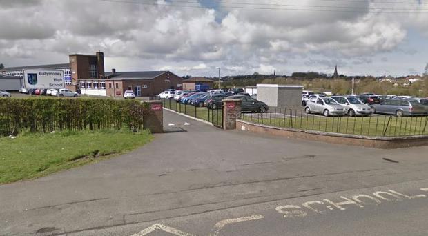 Ballymoney High School. Pic Google Maps.