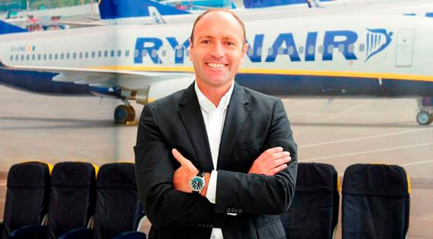 Kenny Jacobs of Ryanair