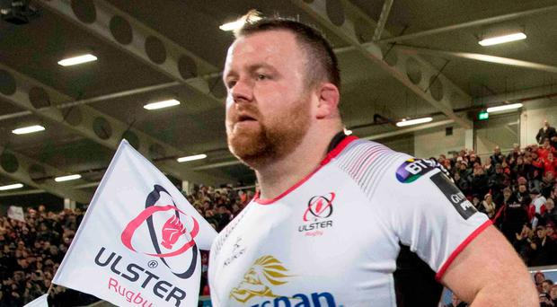 Right attitude: Ulster ace Andy Warwick is giving his all in training while striving to improve.