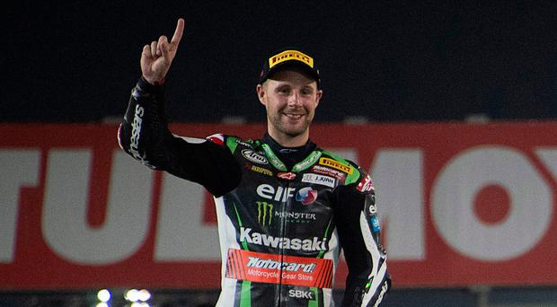World champ: Jonathan Rea is gunning for four-in-a-row