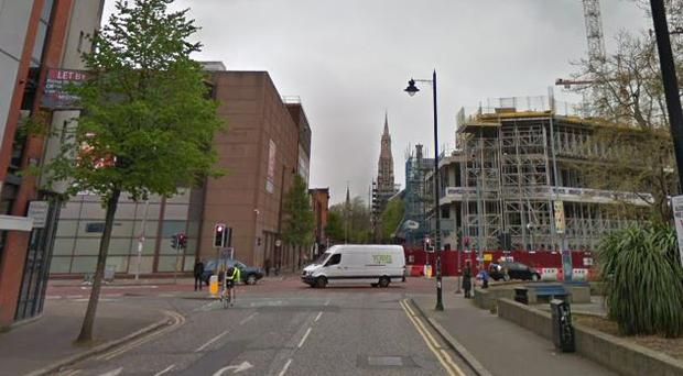 Donegall Street in Belfast / Credit: Google Maps