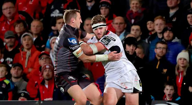Euro battle: Stuart McCloskey knows Ulster face a stiff test to try and book a place in Europe next season