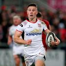 Back at it: John Cooney will pull on the white of Ulster