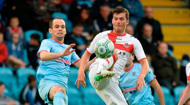 Looking ahead: Tony Kane is after a big effort at Seaview