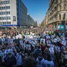Time for Truth March takes place in Belfast City Centre on 25th February 2018 (Photo by Kevin Scott / Belfast Telegraph)