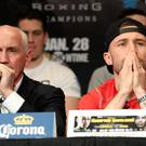 Barry McGuigan and Carl Frampton are embroiled in legal battles