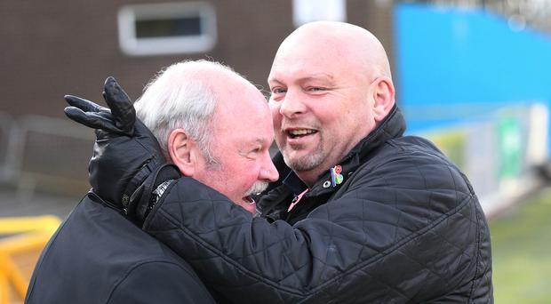 Reunited: David Jeffrey and Ronnie McFall will meet again