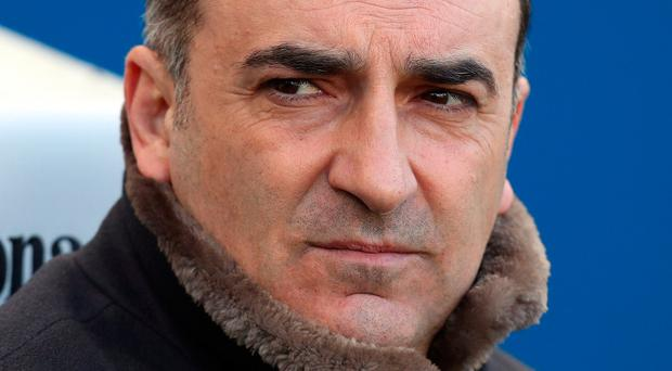Swansea City manager Carlos Carvalhal