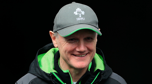 Wise head: Joe Schmidt has seen it all go wrong before