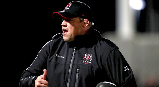 Battle ready: Jono Gibbes has Ulster fighting according to Niall Malone