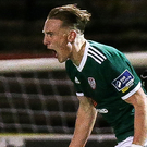 Big say: Ronan Curtis hails his goal for the Candystripes