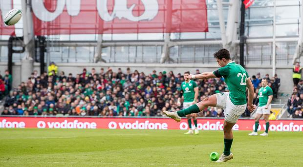On target: Joey Carbery