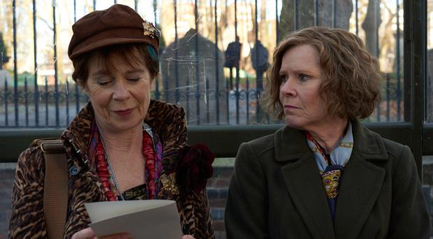 Sibling rivalry: Celia Imrie and Imelda Staunton star in Finding Your Feet