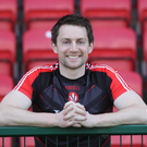 Shooting stars: James Kielt's accuracy can help underpin Derry's bid to remain in Division Three