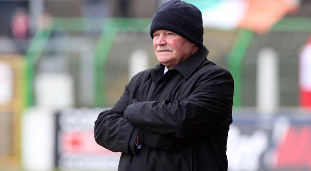 Admiration: Ronnie McFall has praised what Oran Kearney has done with Coleraine