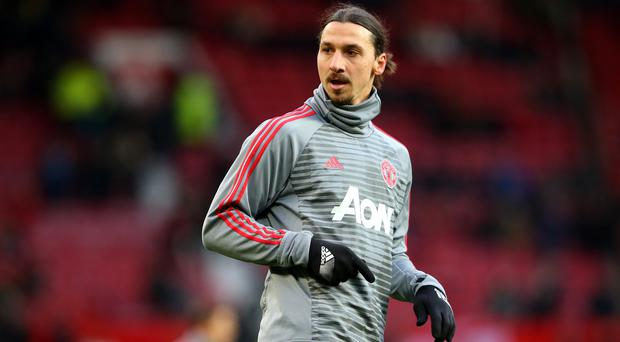 Injury hell: Zlatan Ibrahimovic is fighting to get fully fit