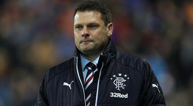 Making peace: Graeme Murty