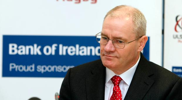 Ulster Rugby Chief Executive Shane Logan