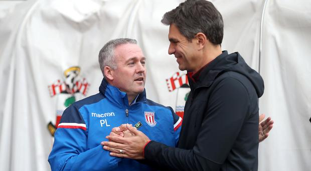 Paul Lambert and Mauricio Pellegrino