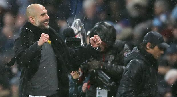 Manchester City boss Pep Guardiola oversaw a 1-0 win over Chelsea