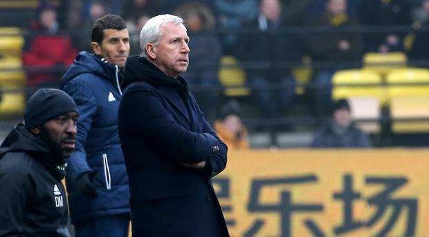 West Brom manager Alan Pardew is under increasing pressure