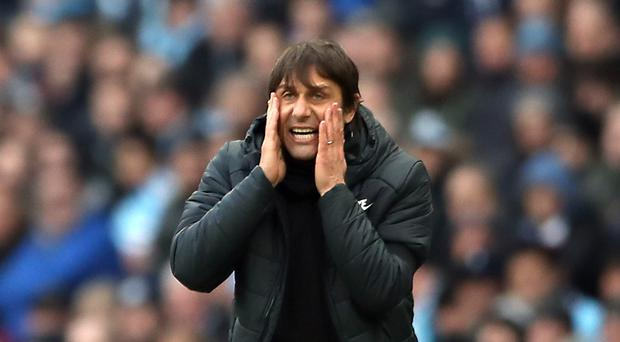 Chelsea manager Antonio Conte faced heavy criticism after defeat at Manchester City